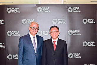 Mr. Xin Song was appointed as the first Chair of the World Gold Council China Chapter